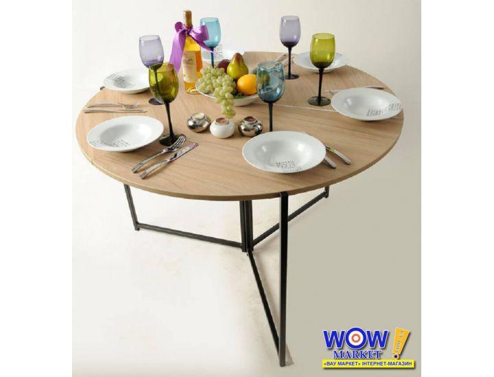 Раскладной стол-трансформер Оригами дуб сонома Микс Мебель
