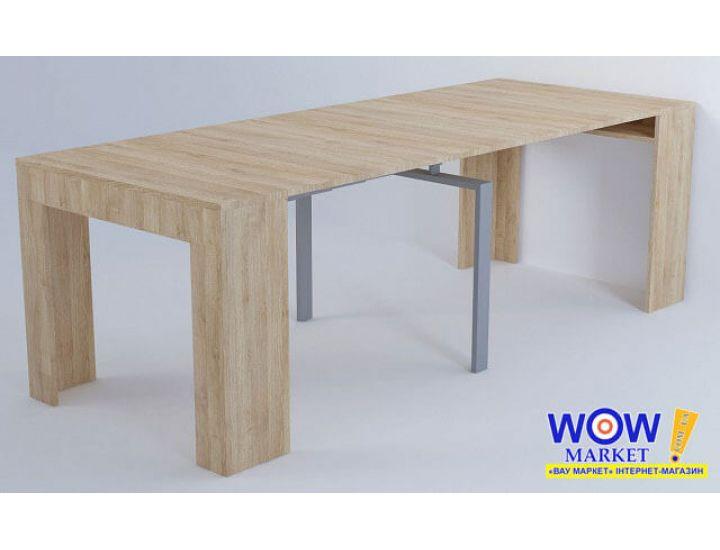 Раскладной стол-трансформер Консоль 4 положения по длине