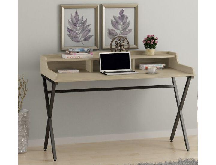 Письменный стол Loft Design L-10, Дуб борас