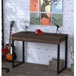 Письменный стол Loft Design L-11 орех модена, ножки черные
