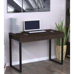 Письменный стол Loft Design L-11 венге корсика, ножки черные