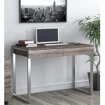 Письменный стол Loft Design L-11 дуб палена, ножки хром