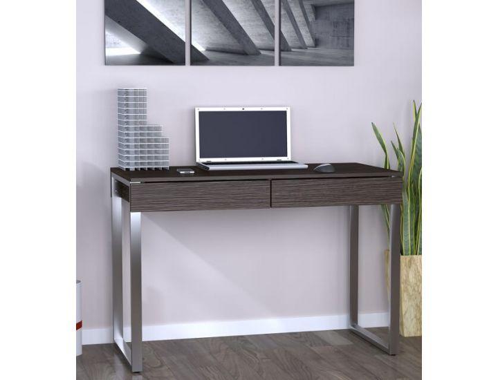 Письменный стол Loft Design L-11 венге корсика, ножки хром