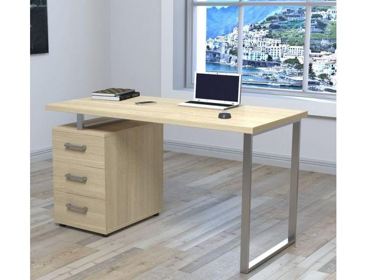 Письменный стол Loft Design L-27 Макс дуб борас