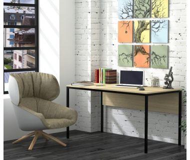 Письменный стол Loft Design L3p, Дуб борас светлый