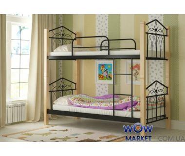 Кровать двухъярусная Тиара 80х200см MADERA (Мадера)