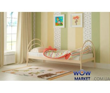 Кровать металлическая Алиса 90х200см MADERA (Мадера)