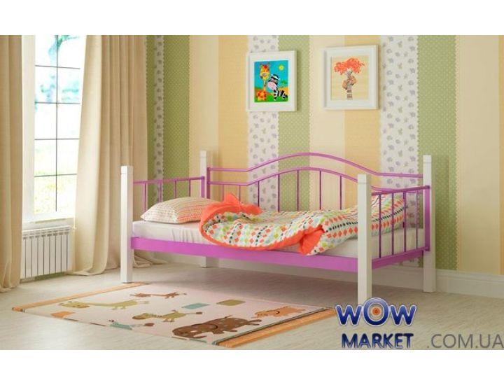 Кровать металлическая Алонзо 90х200см MADERA (Мадера)