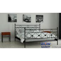 Кровать металлическая Бриана 140х200см MADERA (Мадера)