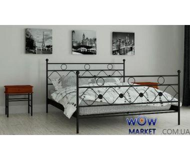 Кровать металлическая Бриана 120х200см MADERA (Мадера)