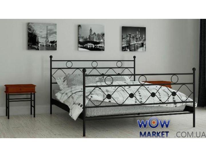 Кровать металлическая Бриана 180х200см MADERA (Мадера)