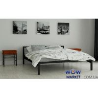 Кровать металлическая Вента 80х200см MADERA (Мадера)