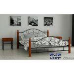 Кровать металлическая Гледис 80х200см MADERA (Мадера)