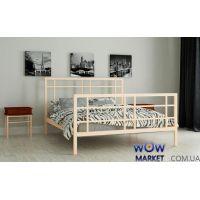 Кровать металлическая Дейзи 140х200см MADERA (Мадера)