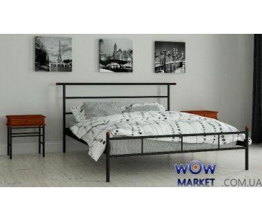 Кровать металлическая Диаз 140х200см MADERA (Мадера)