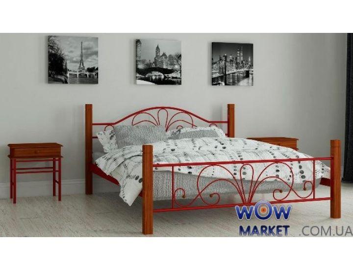 Кровать металлическая Изабела 120х200см MADERA (Мадера)