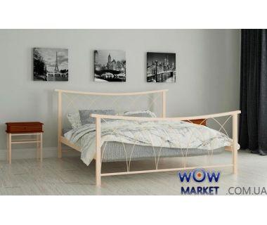 Кровать металлическая Кира 140х200см MADERA (Мадера)