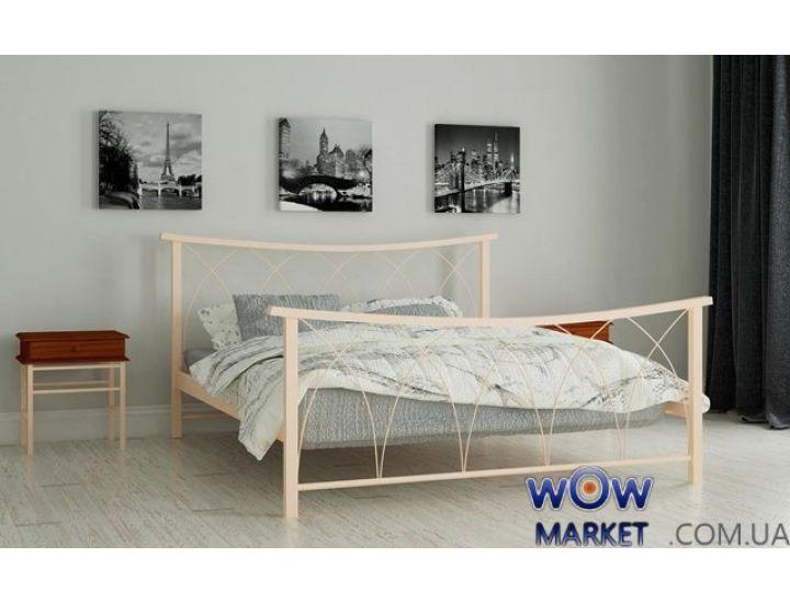 Кровать металлическая Кира 180х200см MADERA (Мадера)