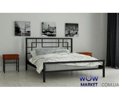 Кровать металлическая Лейла 140х200см MADERA (Мадера)