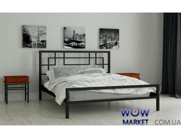 Кровать металлическая полуторная Лейла 140х200см MADERA (Мадера)