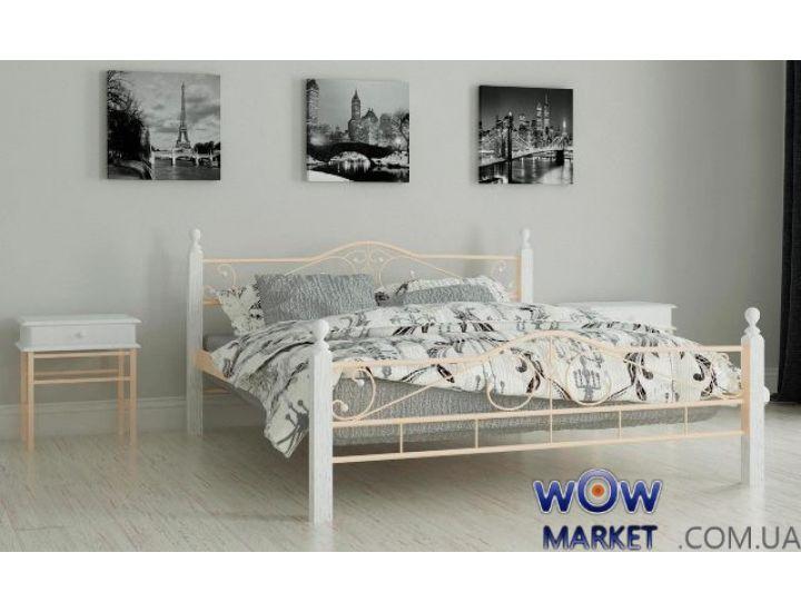 Кровать металлическая полуторная Мадера 120х200см MADERA (Мадера)