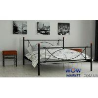Кровать металлическая Роуз 140х200см MADERA (Мадера)