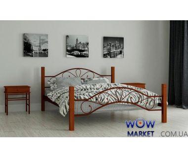 Кровать металлическая Фелисити 180х200см MADERA (Мадера)