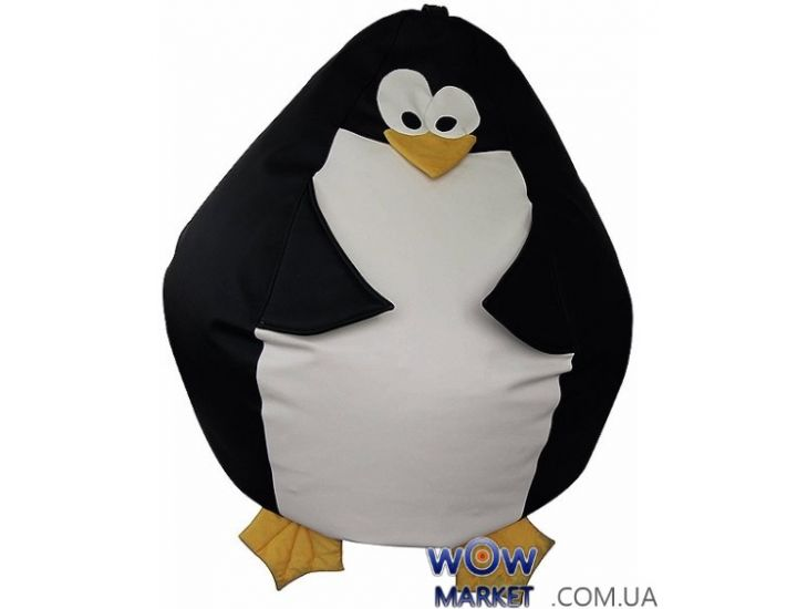 Кресло-мешок пингвин Шкипер из Мадагаскара Matroluxe (Матролюкс)