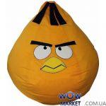 Кресло-мешок Оранжевая птица Angry Birds Matroluxe (Матролюкс)