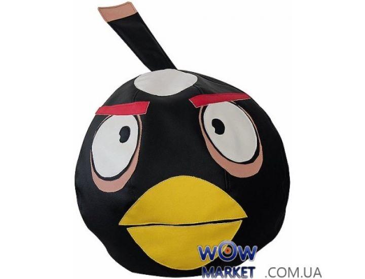 Кресло-мешок Черная птица Angry Birds Matroluxe (Матролюкс)