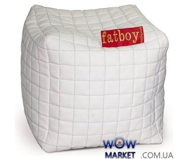 Пуфик-кубик белый/черный Фэтбой Matroluxe (Матролюкс)