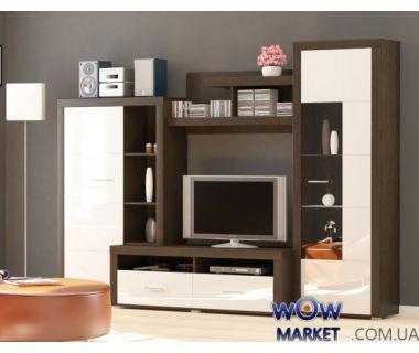 Гостиная Неон-1 венге Мебель Сервис