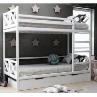Детская двухъярусная кровать Лиана с ящиками