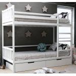 Детская двухъярусная кровать Хатико с ящиками