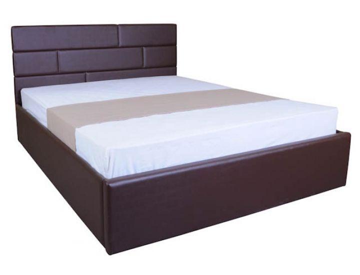 Кровать мягкая Джина 140х200 см с подъемным механизмом Melbi (Мелби)