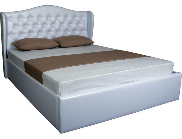 Кровать мягкая Грация 160 (180) х (190) 200 см с подъемным механизмом Melbi (Мелби)