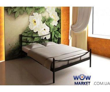 Кровать металлическая Сакура (Sakura) 200 (190)*160 см с изножьем Метакам