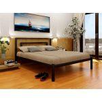 Кровать металлическая Brio (Брио) 200(190)X120 без изножья Метакам