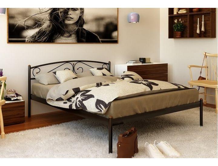 Кровать металлическая Верона (Verona) 200(190)X160 Метакам