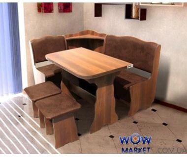 Кухонный уголок Симфония (комплект) вишня медовый Микс Мебель