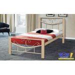 Кровать Милениум Вуд 90*200 см, бежевый Микс Мебель Iron Line