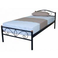 Кровать Релакс 90*200 см, черный Микс Мебель Iron Line