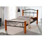 Кровать Релакс Вуд 90*200 см, черный Микс Мебель Iron Line