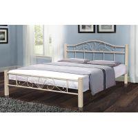 Кровать Релакс Вуд 160*200 см, бежевый Микс Мебель Iron Line