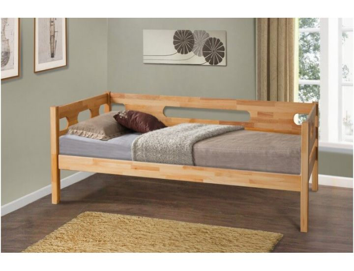 Кровать односпальная Сьюзи 90х200см Эко модерн Микс Мебель