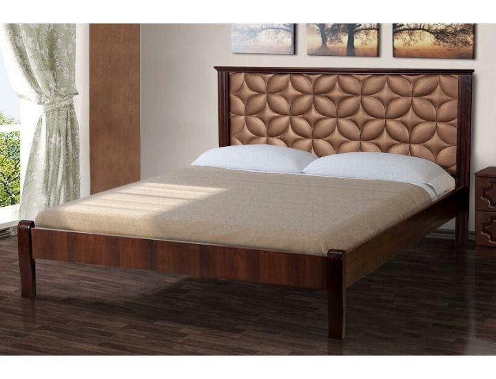 Кровать двуспальная Рубин 160х200 см Микс Мебель Элегант