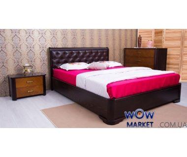 Кровать Ассоль 160х200см ромбы венге с подьемным механизмом Микс Мебель Мария