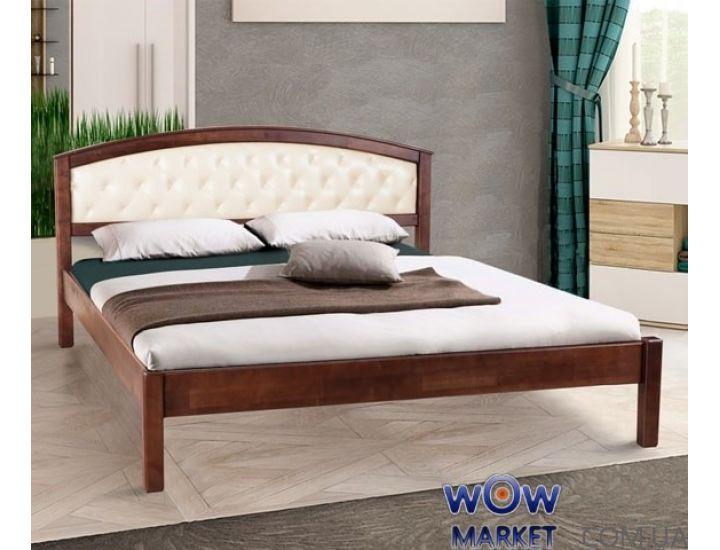 Кровать полуторная Джульета мягкая 140х200см Элегант Микс-Мебель
