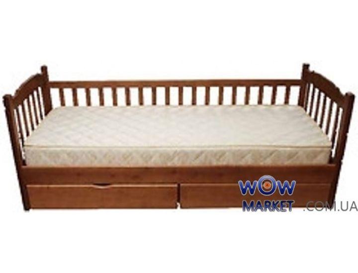 Кровать Юниор с одним забором 90х200см Микс-Мебель Уют