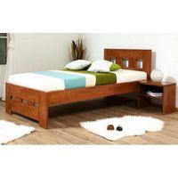 Кровать односпальная Space (Спейс) 90х200см Эко модерн Микс Мебель